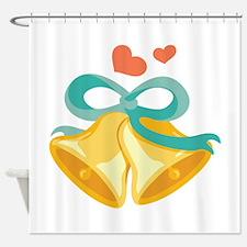 Ringing Wedding Bells Shower Curtain