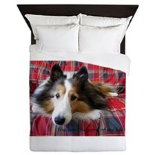 You are the Woof of My Life Queen Duvet