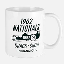 Drags Racing Indianapolis 1962 Mug