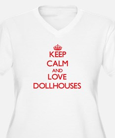 Keep calm and love Dollhouses Plus Size T-Shirt