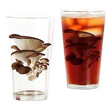 Mushrooms Drinking Glass