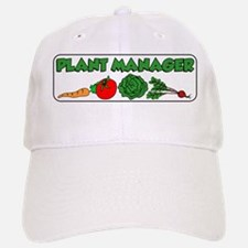 Plant Manager Gardening Baseball Baseball Baseball Cap