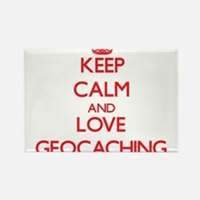 Keep calm and love Geocaching Magnets