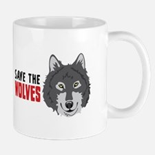 Save The Wolves Mugs