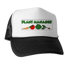 Plant Manager Gardening Trucker Hat