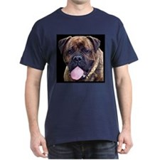 Brindle Bullmastiff Head T-Shirt