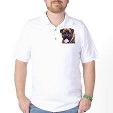 Brindle Bullmastiff Head T-Shirt
