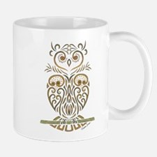 Tribal Owl Mugs