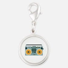 Radio Cassette Player Charms