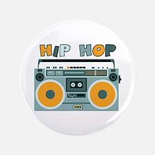 "HIP HOP 3.5"" Button"