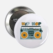 "HIP HOP 2.25"" Button"