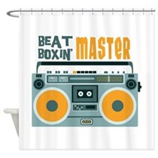 BEAT BOXIN MASTER Shower Curtain