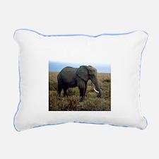 Elephant Rectangular Canvas Pillow