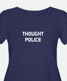 THOUGHT POLICE Plus Size T-Shirt