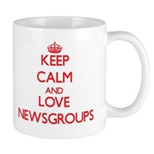 Keep calm and love Newsgroups Mugs
