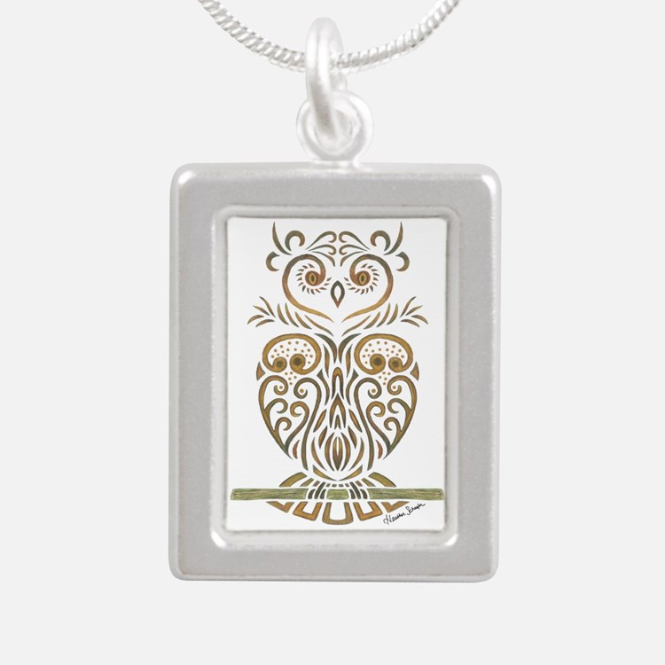 Tribal Owl Necklaces