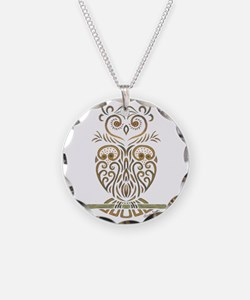 Tribal Owl Necklace