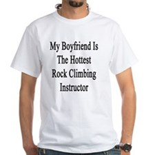 My Boyfriend Is The Hottest Rock Cli Shirt