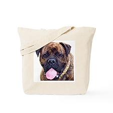 Brindle Bullmastiff Head Tote Bag
