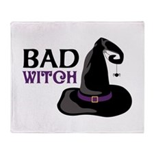 BAD WITCH Throw Blanket