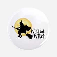 """Wicked Witch 3.5"""" Button"""