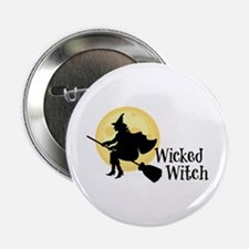 "Wicked Witch 2.25"" Button"