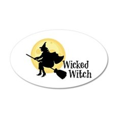 Wicked Witch Wall Decal