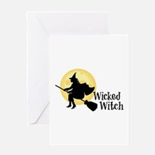 Wicked Witch Greeting Cards
