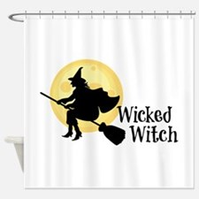 Wicked Witch Shower Curtain