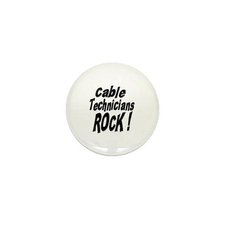 Cable Techs Rock ! Mini Button (10 pack)