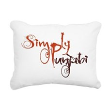 Simply Punjabi Rectangular Canvas Pillow