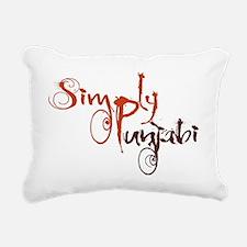 Simply Punjabi Rectangular Canvas Pillow