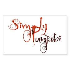 Simply Punjabi Decal