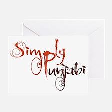 Simply Punjabi Greeting Card