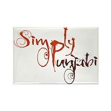 Simply Punjabi Rectangle Magnet