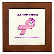 Turner Syndrom Awareness Framed Tile