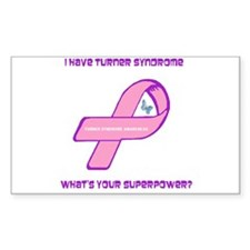 Turner Syndrom Awareness Decal