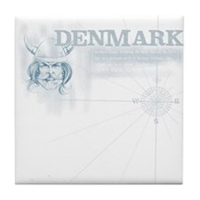 Compass DK Tile Coaster