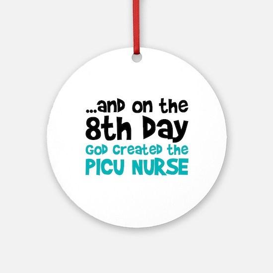 PICU Nurse Creation Ornament (Round)