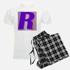 Purple R Monogram Pajamas