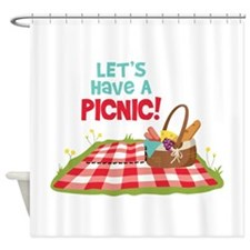 Lets Have A Picnic! Shower Curtain