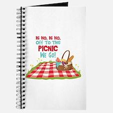 Hi Ho,Hi Ho, Off To The Picnic We Go! Journal