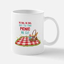 Hi Ho,Hi Ho, Off To The Picnic We Go! Mugs