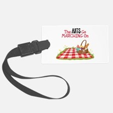 The Ants Go Marching On Luggage Tag