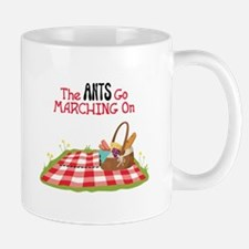 The Ants Go Marching On Mugs