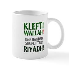 Klefti Wallah - One Handed Shoplifter - Mug