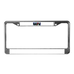 Boril License Plate Frame