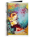 Afro art Journals & Spiral Notebooks