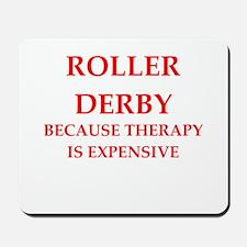 roller derby Mousepad