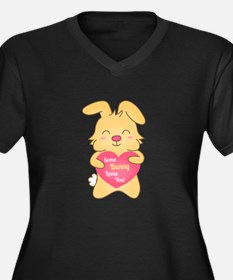 Some bunny loves you, cute humor Plus Size T-Shirt